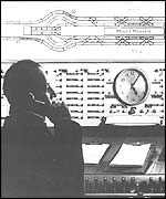 Control Panel and operator on the Mail Rail service