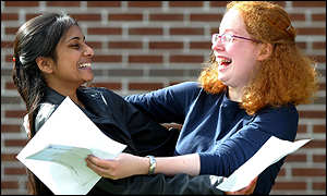 Esha Aggarwal and Naomi Sather who have 22 GCSEs
