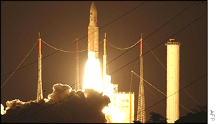 The European Union's own weather satellite being launch in August 2002