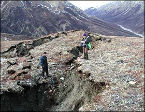 Alaska quake, Peter Haeussler, US Geological Survey