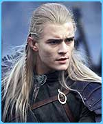 Orlando Bloom as Legolas in The Twin Towers