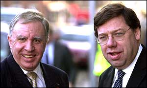 NI Secretary Paul Murphy and Irish Foreign Affairs minister Brian Cowen