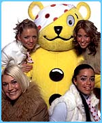 S Club have met Children in Need's Pudsey!