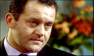 Paul Burrell speaking on ITV