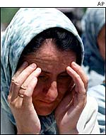 Widows of Srebrenica dead