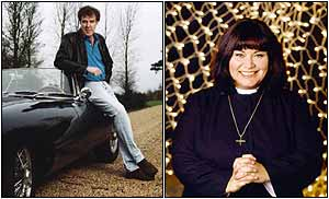 Jeremy Clarkson and Vicar of Dibley