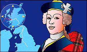 Artwork of Bonnie Prince Charlie