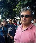 Jorge, inmigrante extrajero.