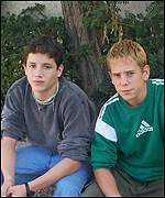 Gastón y Netaniel,