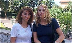 Marcela Daich y Vivian Jacobo