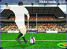 Are you a kicking king?  Play our new rugby kicking game