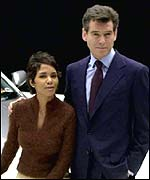 Halle Berry and Pierce Brosnan