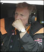Arrows team boss Tom Walkinshaw