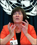 Clare Short, Britain's Minister for International Development