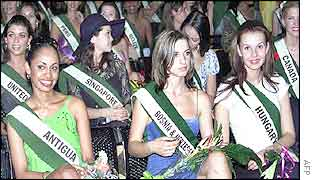 Miss World contestants now in Nigeria