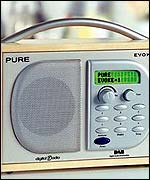 Pure Evoke 1 digital radio