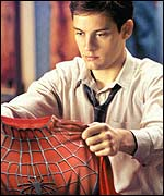 Tobey Maguire in Spider-Man