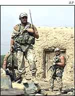 US special forces east of Kabul