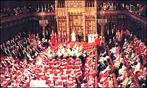 Queen opening Parliament