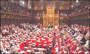 General view of the House of Lords