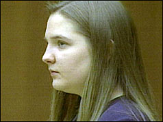 Louise Woodward in court