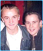 Potter pals: Tom Felton and Matthew Lewis