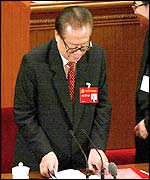 Jiang Zemin (AFP photo)