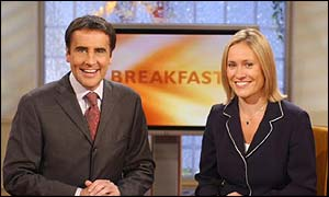 Sophie Raworth and Dermot Murnaghan