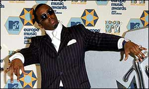 P Diddy - formerly known as Puff Daddy - was the host