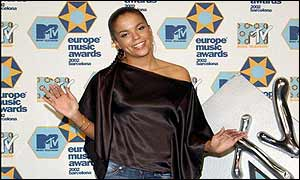 Award presenters included UK star Ms Dynamite