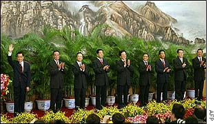 The new Politburo standing committee