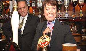 Tessa Jowell at the Red Lion, Westminster