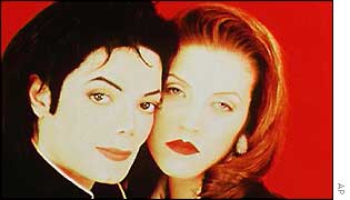 Michael Jackson and Lisa-Marie Presley