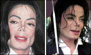 Michael Jackson in 2000 and 2001