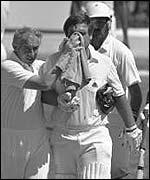 Mens Cricket (Helmets) _38473399_gatting150