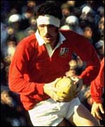 Wales an Lions great Mervyn Davies