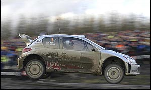 Richard Burns on the Rally of Great Britain
