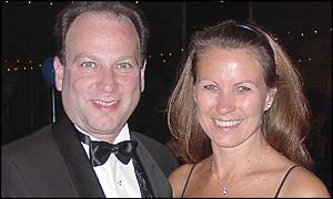 Steve and Suesie Glagow, who met and married in 2000