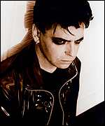 Pop star Gary Numan