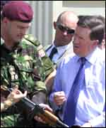 Nato's Lord Robertson