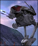 Screenshot from Star Wars: Galaxies, Lucas Film