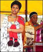 One of King Mswati III's previous fianc�es