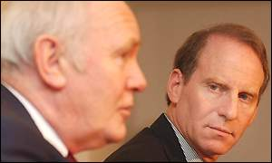 Richard Haass (right) will meet the chief constable