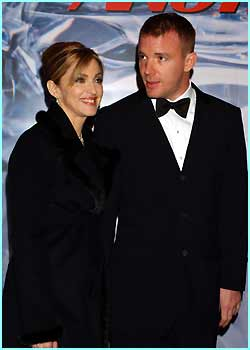 Madonna & Guy Ritchie look suitably smooth in black