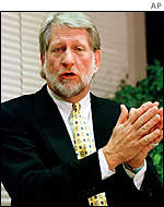 WorldCom founder and former CEO Bernard Ebbers