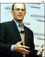 Newly appointed WorldCom chairman and chief executive Michael Capellas