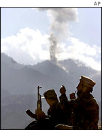 US bombing of Tora Bora, December, 2001