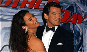 Keely Shaye-Smith with husband Pierce Brosnan