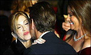 Madonna, Pierce Brosnan, Keely Shaye-Smith