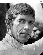 James Coburn pictured at the start of his career